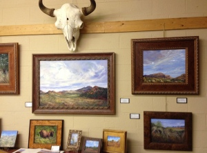 The Open Range Fine Art in Alpine features Lindy Cook Severns