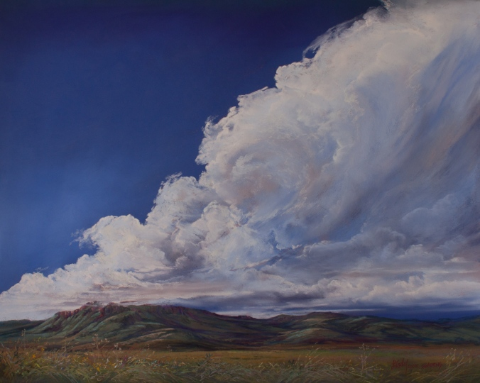 Untamed-Texas-Sky-16x20-pastel-Lindy-C-Severns-2500x2000